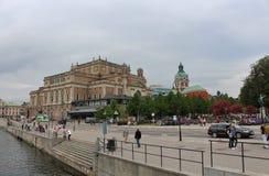 Królewska opera w Sztokholm Obraz Royalty Free