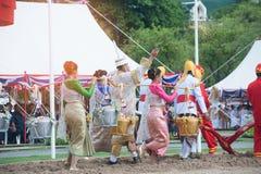 Królewska oranie ceremonia w Tajlandia Zdjęcie Royalty Free