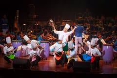 Królewska Tajlandzka siły powietrzne orkiestra symfoniczna Fotografia Stock