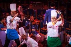 Królewska Tajlandzka siły powietrzne orkiestra symfoniczna Zdjęcia Royalty Free
