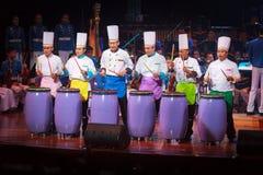 Królewska Tajlandzka siły powietrzne orkiestra symfoniczna Zdjęcia Stock