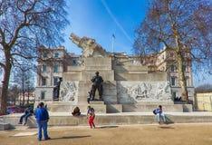 Królewski Artyleryjski pomnik w Londyn, UK Obrazy Stock