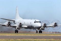 Królewski australijczyk siły powietrzne RAAF Lockheed AP-3C Orion Morski patrol i Anty Podwodny Podjazdowy samolot obrazy stock