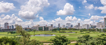 Królewski Bangkok klub sportowy Zdjęcia Stock