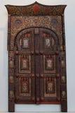 Królewski bramy ï ¿ ½ eksponat od kolekci drewniana rzeźba Fotografia Royalty Free