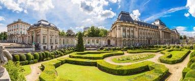 królewski Brussels pałac obraz royalty free