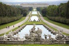 królewski Caserta pałac Fotografia Royalty Free