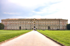 królewski Caserta pałac Obraz Royalty Free