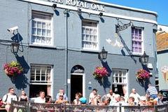 Królewski Dębowy pub, Weymouth Obraz Royalty Free