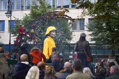 Królewski De Luxe theatre performace Zdjęcie Stock