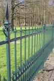Królewski dokonanego żelaza ogrodzenie Zdjęcie Royalty Free