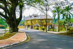 Królewski dom muzealny Diraja Perak obrazy stock