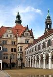 królewski Dresden pałac Zdjęcie Stock