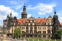 królewski Dresden pałac Obrazy Royalty Free