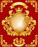 Królewski Emblemat Zdjęcie Stock