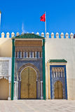 królewski fes pałac Obraz Royalty Free