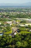 Królewski flory Chiang mai od above Fotografia Stock