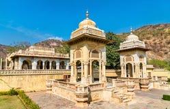 Królewski Gaitor cenotaph w Jaipur, Rajasthan, -, India Zdjęcia Royalty Free