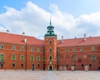 Królewski Grodowy podwórze, Warszawa, Polska Zdjęcia Royalty Free