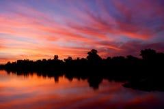 Królewski Kąpielowy wschód słońca Zdjęcia Royalty Free