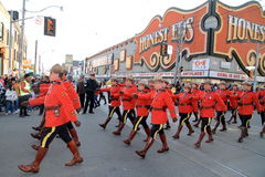 Królewski kanadyjczyk Wspinająca się policja zdjęcie stock