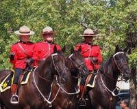 Królewski kanadyjczyk Wspinająca się policja obraz royalty free