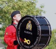 Królewski kanadyjczyk Wspinająca się policja obraz stock