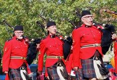 Królewski kanadyjczyk Wspinająca się policja zdjęcie royalty free