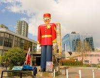 Królewski kanadyjczyk wspinająca się policja w kolumbiach brytyjska obraz royalty free