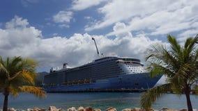 Królewski Karaibski statek Zdjęcia Royalty Free