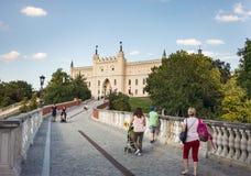 Królewski kasztel Lublin, Polska Zdjęcia Stock