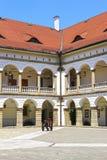 Królewski kasztel w Niepolomice, Polska Zdjęcia Royalty Free
