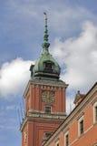 Królewski kasztel w Starym Grodzkim Warszawskim Polska Fotografia Royalty Free