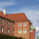 Królewski kasztel w Starym Grodzkim Warszawskim Polska Obrazy Royalty Free