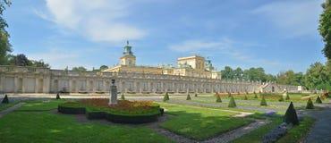 Królewski kasztel w Wilanow Zdjęcie Stock