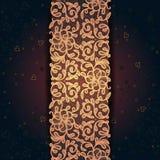 Królewski koronkowy dekoracyjny wzór abstrakcjonistyczny composit ilustracji