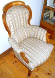 Królewski krzesło Obrazy Royalty Free