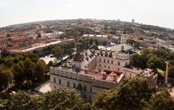 królewski Lithuania pałac zdjęcia stock