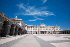 królewski Madrid pałac Fotografia Stock