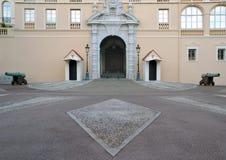 królewski Monaco pałac Zdjęcia Stock