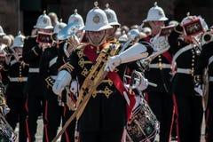 Królewski morski zespół Szkocja fotografia stock
