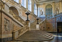 królewski Naples pałac Obraz Royalty Free