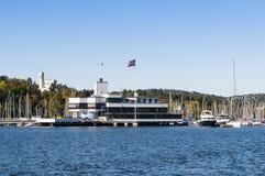 Królewski Norweski jachtu klub Oslo Zdjęcia Royalty Free