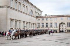 Królewski nowego roku świętowanie w Kopenhaga, Dani Obrazy Stock
