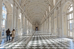 królewski pałac venaria Fotografia Royalty Free