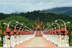 Królewski pawilon (Ho Kham Luang) Obrazy Royalty Free