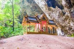 Królewski pawilon w Phraya Nakhon jamie, Prachuap Khiri Khan obrazy stock