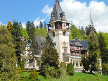 Królewski Peles kasztel w Rumunia Obraz Stock
