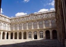 królewski podwórzowy pałac obrazy royalty free
