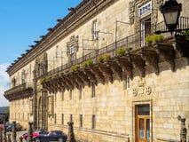 Królewski szpital - Santiago De Compostela obrazy stock